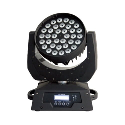36pc 10w RGBW 4in1 moving head waslamp
