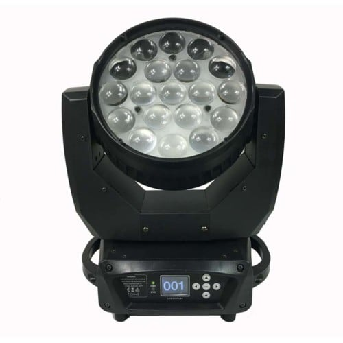 19stks * 15 w led zoom podiumverlichting