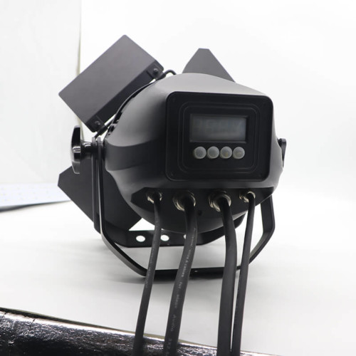 200W waterproof COB warm white led audio light for studio TV station